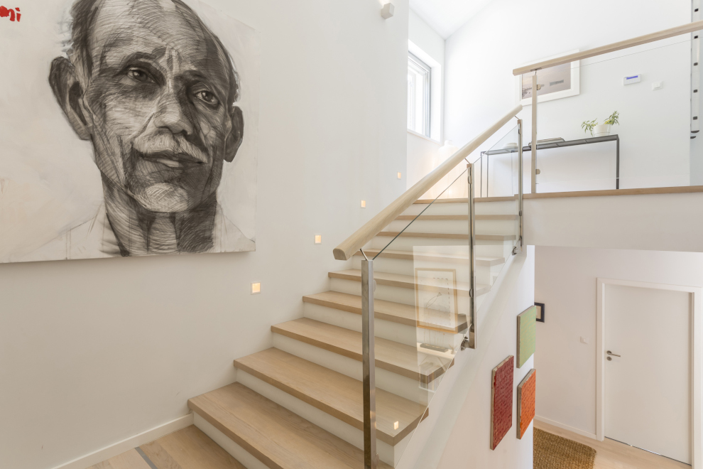 stairs painting